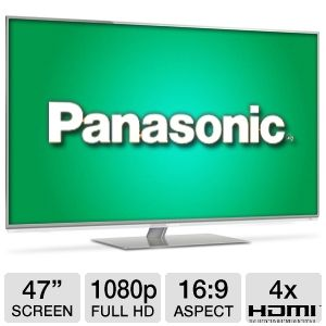Panasonic Viera TCL-47DT50 47 inch 1080p 240Hz 3D LED LCD HDTV with Smart TV, Built-in Wi-Fi, Web Browser, 4 HDMI
