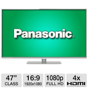 Panasonic Smart Viera 47&quot; Class LED 3D HDTV
