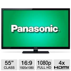 Panasonic TCL55E50 55&quot; 1080p 120Hz Apps LED HDTV