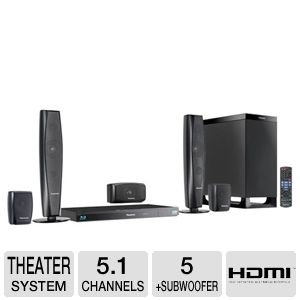 Panasonic SCBTT370 3D BluRay Home Theater System
