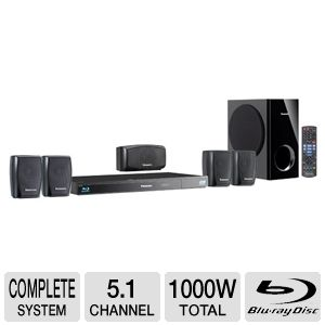 Panasonic SCBTT270 5.1 Channel Home Theater REFURB