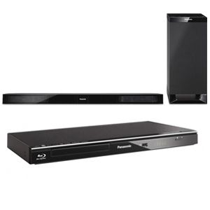 Panasonic SCHTB20 Soundbar &amp; DMPBD87 BluRay Player