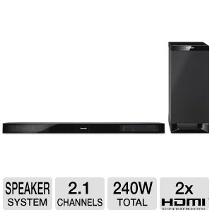 Panasonic SC-HTB20 Home Theater Soundbar Speaker
