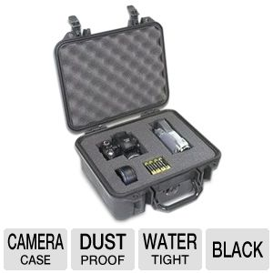 Pelican Black Camera Case w/ Pick 'N Pluck