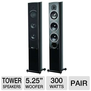 Pure Acoustics NOBLE-IIF Tower Speakers