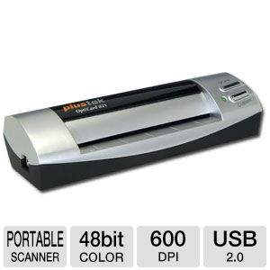 Plustek OptiCard 821 Business Card Scanner