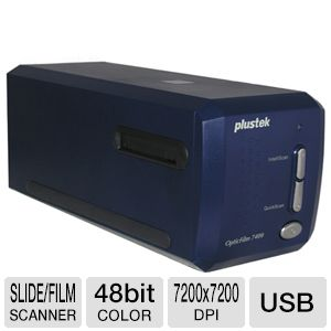 Plustek 7400 60-A1A-BBM310-C OpticFilm Scanner