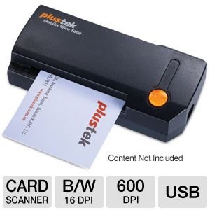 Plustek MobileOffice S800 Business Card Scanner