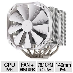 Phanteks Dual Heat Pipe Multi-Socket CPU Fan White
