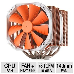 Phanteks Dual Heat Pipe MultiSocket CPU Fan Orange
