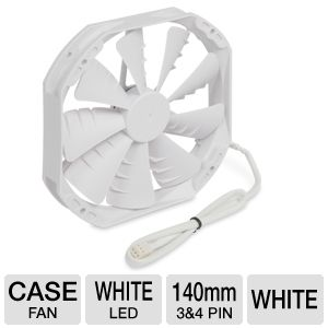 Phanteks 140mm White Case Fan