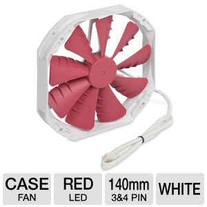 Phanteks 140mm Red Case Fan