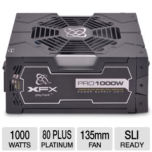 XFX Pro P11000BELX 1000W Limited Black Edition Ful