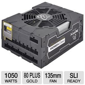 XFX ProSeries 1050W Black Ed. Modular Power Supply