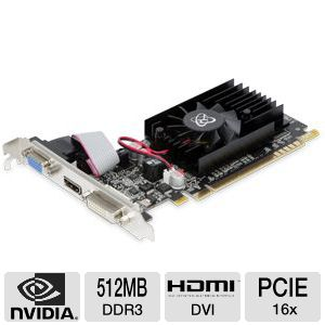 XFX GeForce G210 512MB DDR3 Video Card