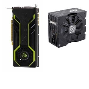 XFX GeForce GTX 250 512MB and XFX 650w XXX PSU Bun