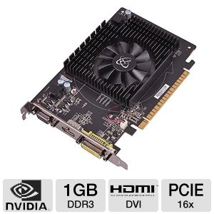 XFX GeForce GT 430 1GB DDR3 PCIe, DVI/HDMI/VGA