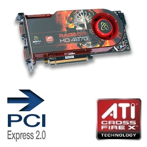 XFX Radeon HD 4870 XXX Ed. Video Card - 1GB