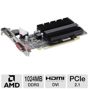 XFX Radeon HD 5450 1GB DDR3 Video Card REFURB