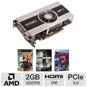 XFX Radeon HD 7850 Core Ed 2GB GDDR5 Video Card