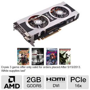 XFX Radeon HD 7870 Double D 2GB GDDR5 PCIe 3.0