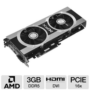 XFX Radeon HD 7950 Black Edition 3GB GDDR5 PCIe 3