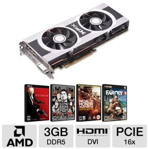 XFX Double D HD 7970 Black Ed. 3GB GDDR5 PC Bundle