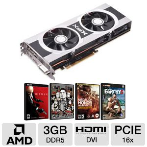 XFX Radeon HD 7970 3GB DDR5 Video Card Bundle