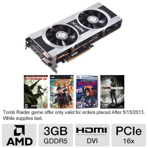 XFX Radeon HD 7970 3GB DDR5 Video Card