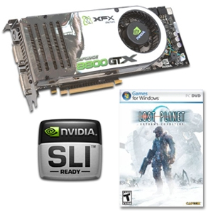 XFX GeForce 8800 GTX 768MB PCIe & LP Game