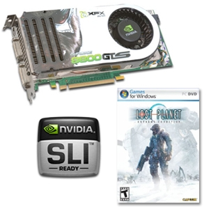 XFX GeForce 8800 GTS 640MB PCIe & LP Game