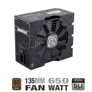 XFX P1-650X-CAH9 650W XXX Edition Modular Power Su