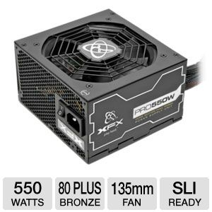 XFX 550W 80 Plus Bronze Core Edition PSU