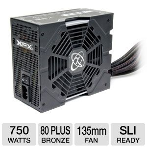 XFX 750W 80 Plus Bronze Core Edition PSU