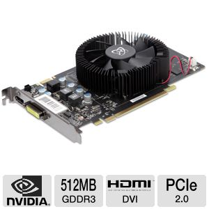 XFX GeForce 9600 GSO 512MB GDDR3 Video Card