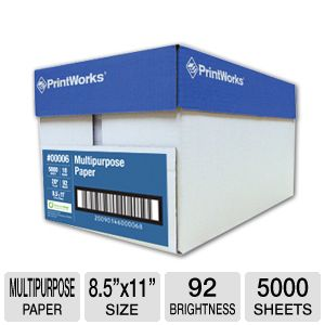 Printworks Multipurpose Paper Ream (Box of 10)