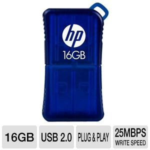 HP v165w USB 2.0 16GB Flash Drive