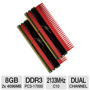 PNY XLR8 8GB Dual Channel Memory Kit REFURB