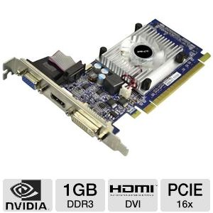 PNY GeForce GT 520 1GB DDR3 PCIe 2.0 Video Card