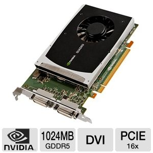 PNY Quadro 2000D 1GB GDDR5 Workstation Graphics