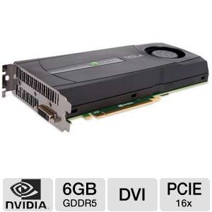 NVIDIA Tesla C2075 6GB GDDR5 PCIe Workstation Card