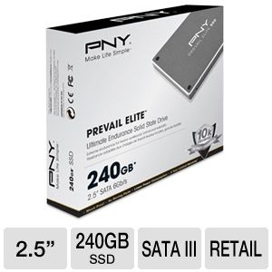 PNY Prevail Elite 240GB Solid State Drive