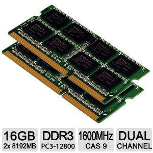 PNY XLR8� 16GB Notebook Memory Module Kit