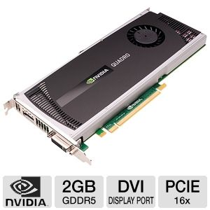 PNY Quadro 4000 2GB GDDR5 Video Card for Mac