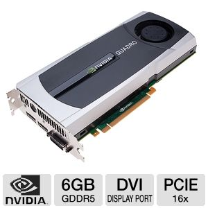 PNY NVIDIA Quadro 6000 6GB GDDR5 Video Card