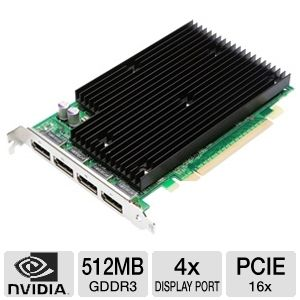 PNY Quadro NVS 450 Workstation Video Card