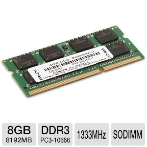 PNY 8GB Notebook Memory Module