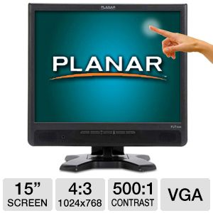 Planar PJT155R 15&quot; Class Touchscreen LCD Monitor
