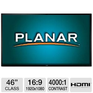 "Planar 46"" Class Edge Lit LED Professional Monitor"