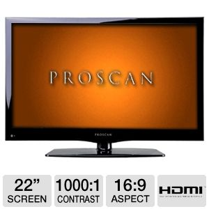 Proscan PLED2243A 22&quot; 1080p 60Hz LED HDTV
